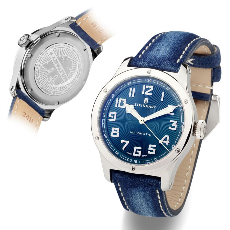 Military 47 automatic blue