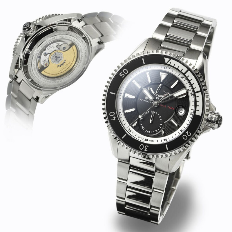 Ocean Two DUAL TIME Power Reserve Limited Edition