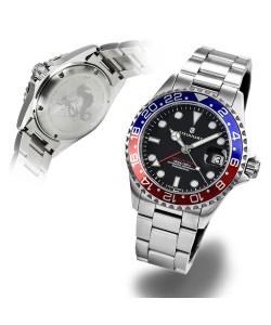 Ocean 39 GMT BLUE-RED