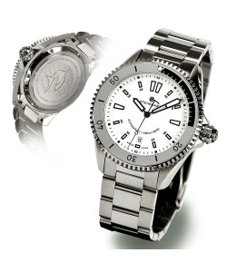 Ocean Two Steinhart Taucheruhr White