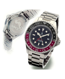 OCEAN Forty Four GMT Black-Red