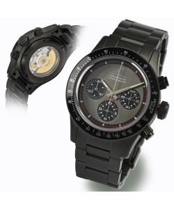 Ocean One Vintage Chronograph black matt DLC grey