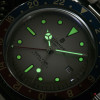 Ocean 1 Steinhart Taucheruhr vintage Dual Time Premium - Superluminova Vintage, Old Radium