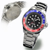 OCEAN Forty Four Steinhart Taucheruhr GMT BLUE-RED