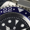 OCEAN Forty Four Steinhart Taucheruhr GMT BLUE-RED - Lünette blau