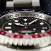 OCEAN Forty Four Steinhart Taucheruhr GMT BLUE-RED - Zifferblatt und Lünette