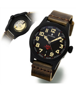 MILITARY 42 automatic black