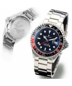 Ocean One GMT BLACK-RED