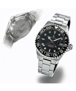 Ocean 39 GMT BLACK Ceramic