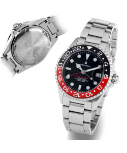 Ocean 39 GMT BLACK-RED Ceramic
