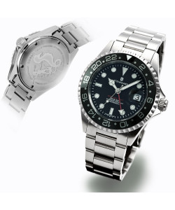 Ocean One GMT BLACK Ceramic