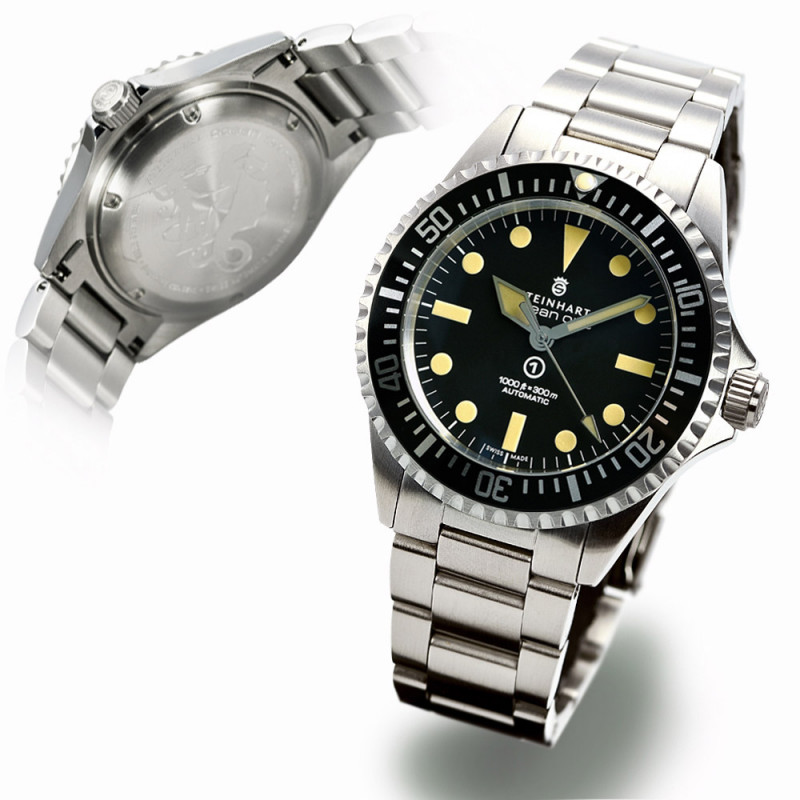 Ocean Vintage Steinhart Diver Watch Military / New