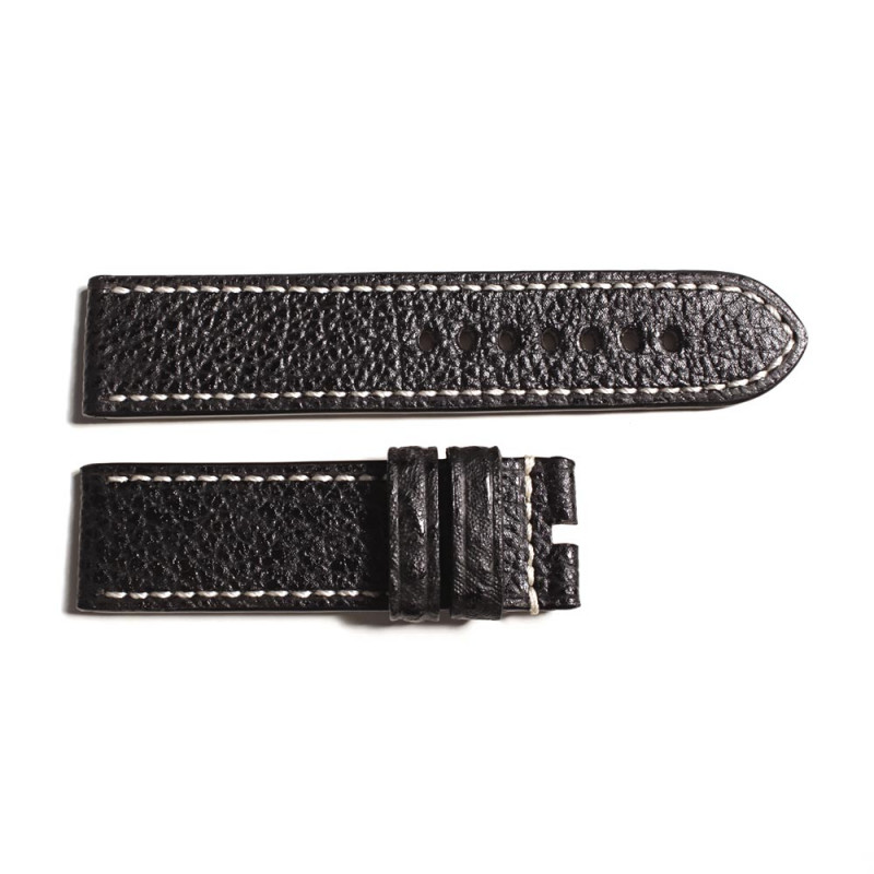 Special strap shark black, contrast stitching, size M