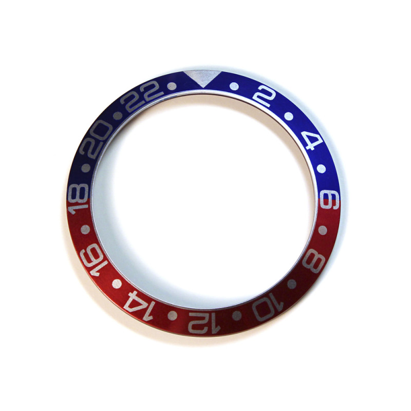 Aluminium inlay for GMT Ocean 1 Blue/Red