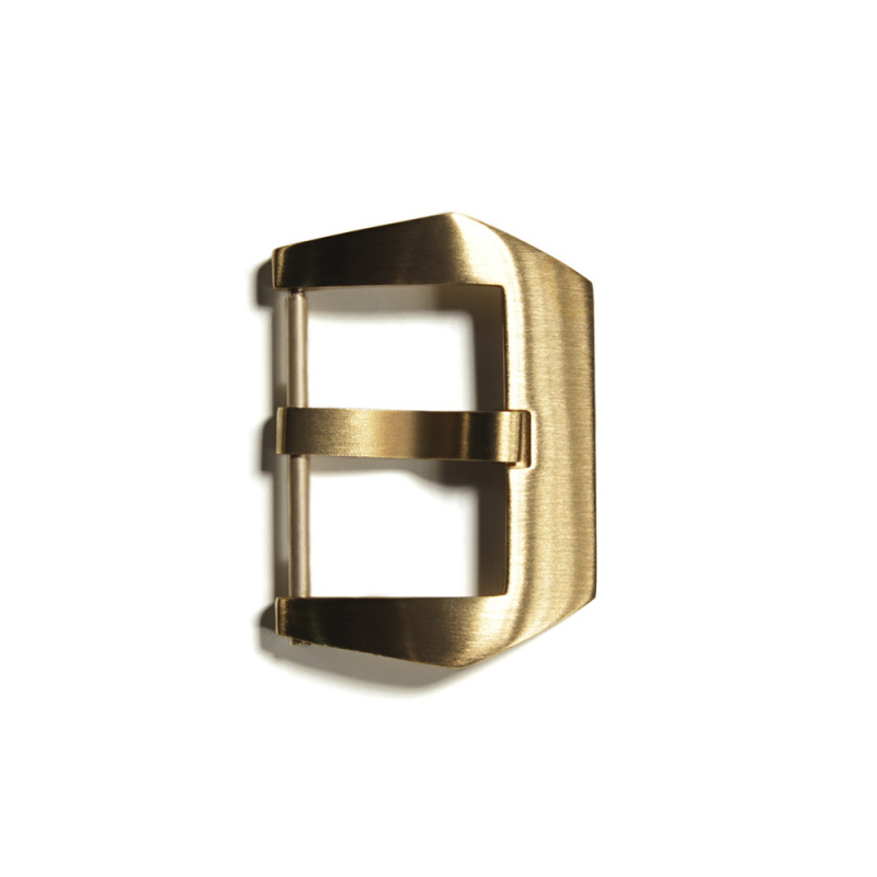 PRE-V buckle Bronze satined 22 mm without logo