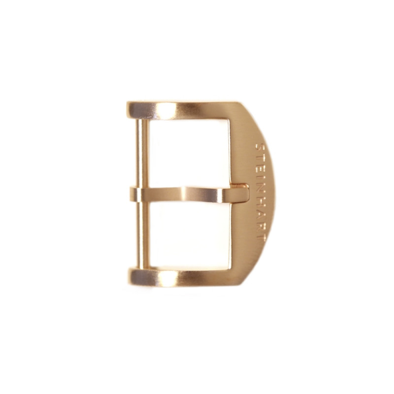 OEM buckle 18 mm pink gold satined