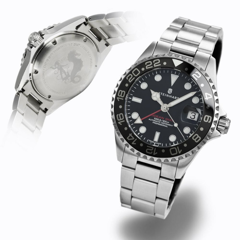 GMT-OCEAN One black ceramic