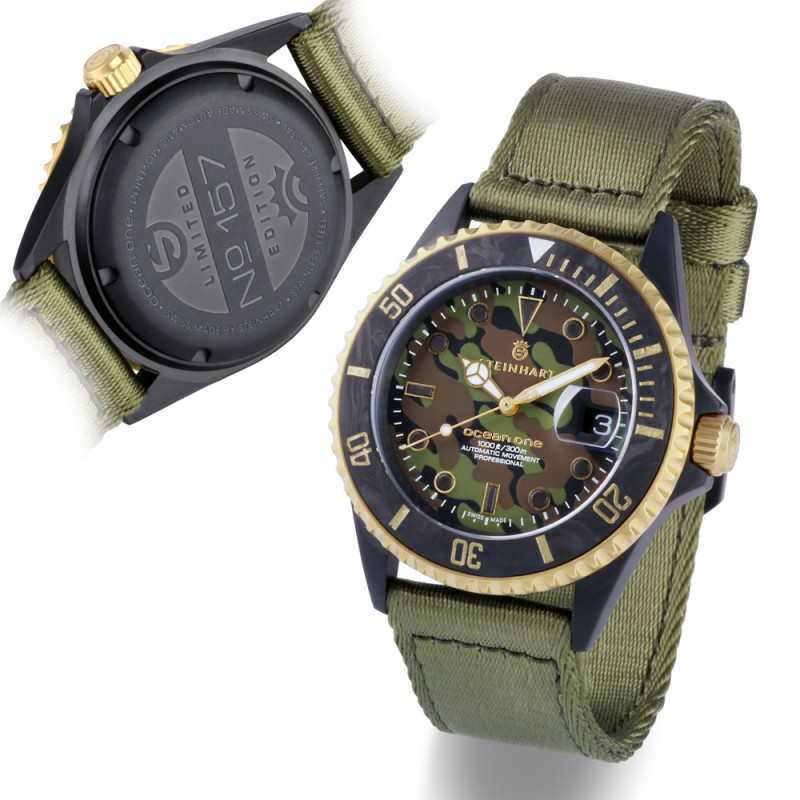 Ocean One black MILITARY Camouflage