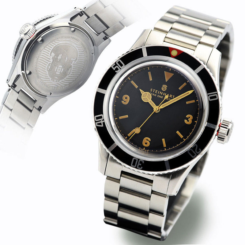 Ocean One Vintage Diver Watches Steinhartwatches
