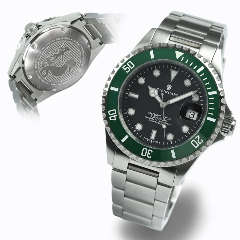 OCEAN One 39 green ceramic