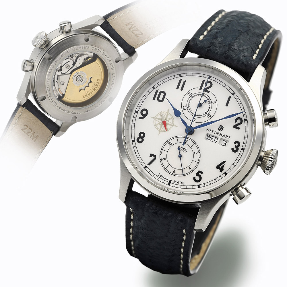 Marine chronograph chronographs steinhartwatches for Marine watches