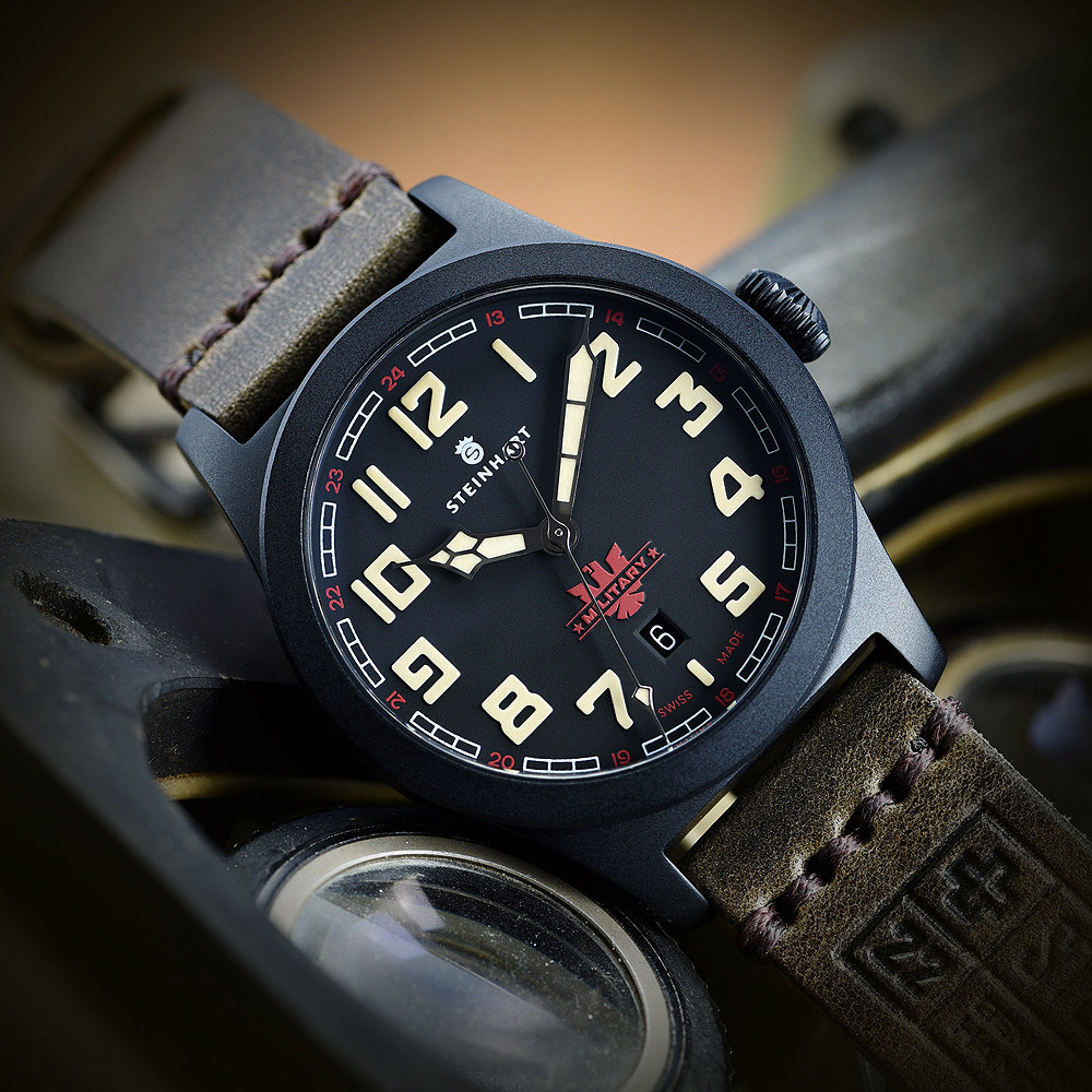 military 42 automatic black further models steinhartwatches. Black Bedroom Furniture Sets. Home Design Ideas