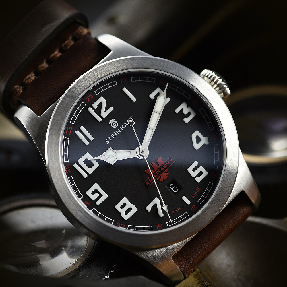 military 42 automatic steinhartwatches. Black Bedroom Furniture Sets. Home Design Ideas