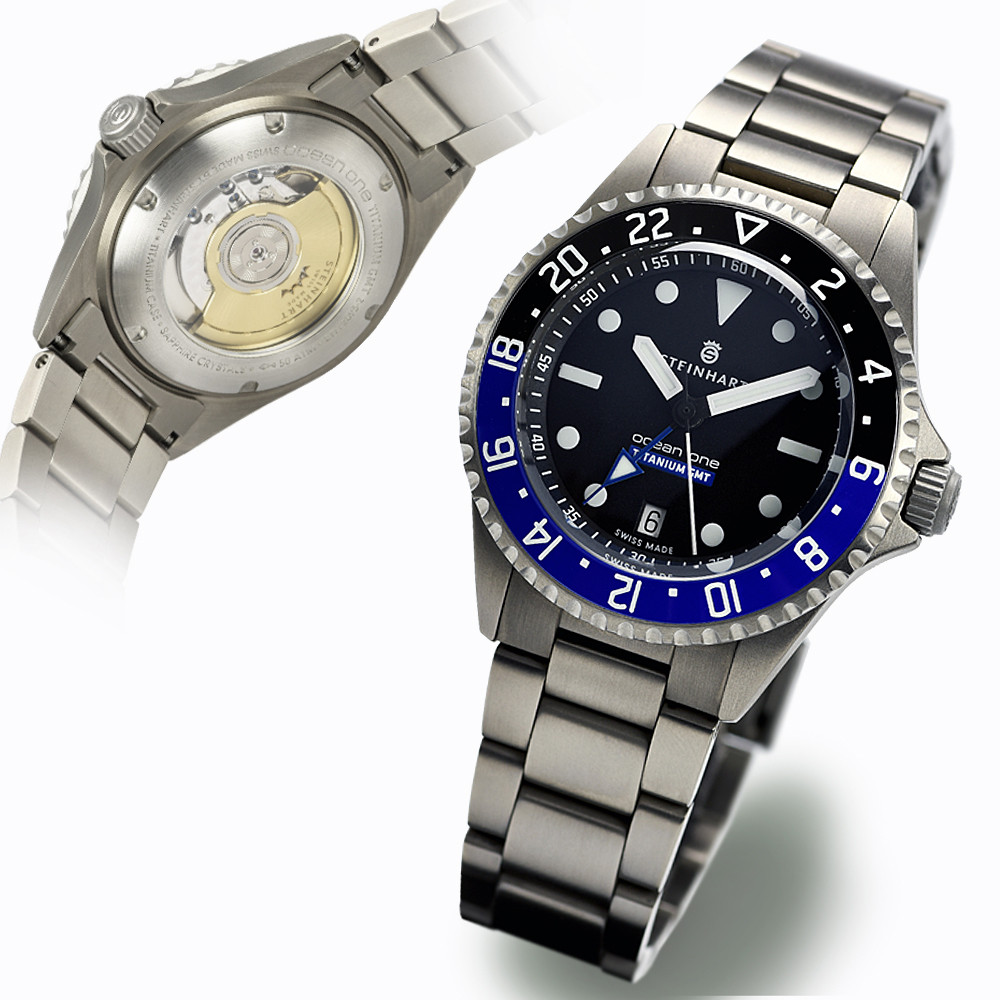 Ocean Titanium 500 Gmt Premium Diver Watches