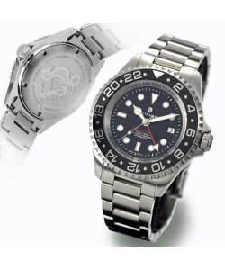 OCEAN Forty-Four Steinhart Diver Watch GMT BLACK Keramik