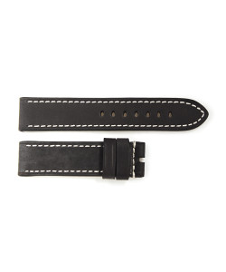 Strap black without rivets, size S