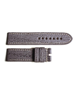 Special strap shark grey, contrast stitching, size M