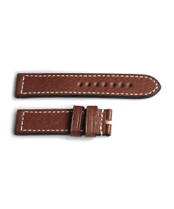 Leather strap tan, size M