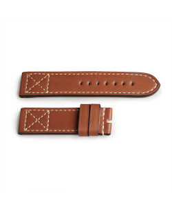 Leather strap ESPRESSO Old Vintage size L