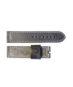 Leather strap vintage grey for Apollon size M
