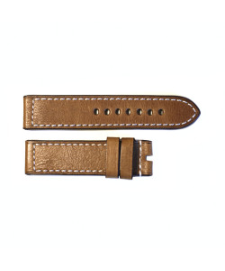 Leather strap brown size S