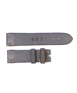 Leather strap grey for Triton Titan 1000 size L