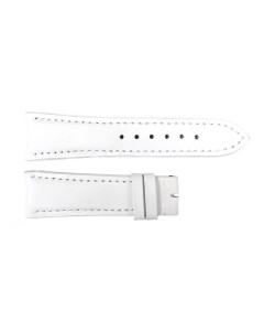 Special strap white with white stitching, size M