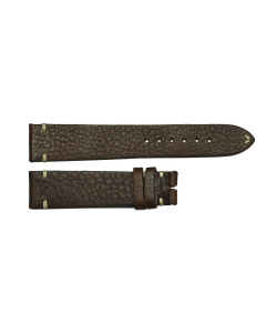 Leather strap vintage brown for size S