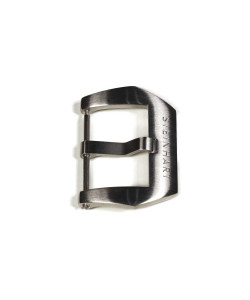PRE-V buckle satined 22 mm with logo
