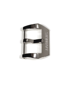 PRE-V buckle polished 24 mm with logo
