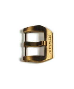 PRE-V buckle Bronze satined 22 mm with logo