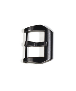 Pre V buckle 24 mm Black PVD without logo