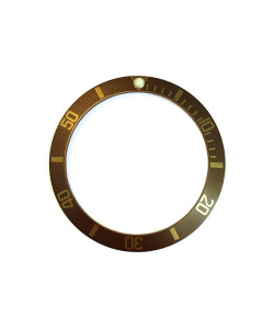 Aluminium inlay for Ocean 1 Bronze light brown