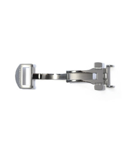 Deployment Clasp stainless steel satined 18 mm