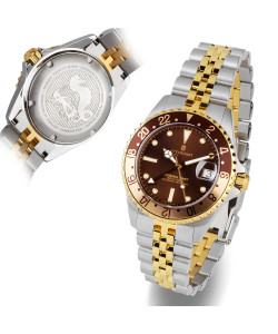 Ocean 39 GMT.2 two-tone CHOCOLATE