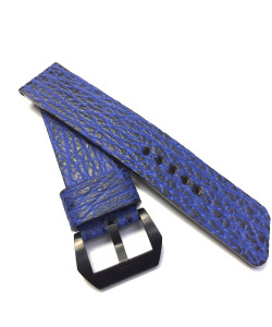 MEVA 24mm special bracelet shark blue / black
