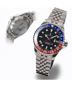 Ocean 39 GMT.2 BLUE-RED Ceramic