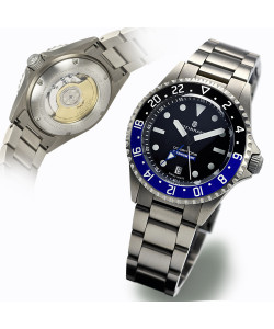 Ocean One Titanium 500 GMT premium Ceramic