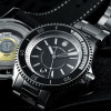 Ocean 2 Premium Steinhart Diver Watch Black - Front and back side