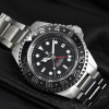 OCEAN Forty-Four Steinhart Diver Watch GMT BLACK Keramik - Dial black